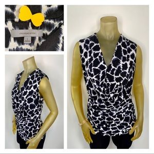 CLASSIQUES ENTIER Stretchy Sleeveless Blouse Large
